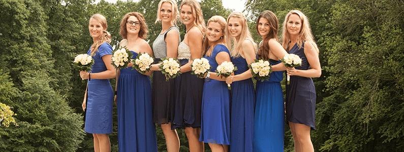 Kleid trauzeugin kirche